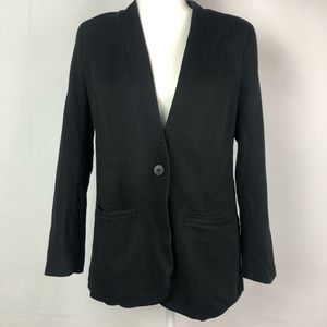 Madewell tribune black blazer